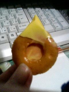 チーズ+おかき