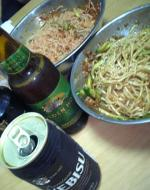 ジャージャー麺&ゴールデンホップ
