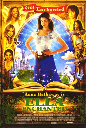 enchanted cartoon movie. a spell Enchanted,