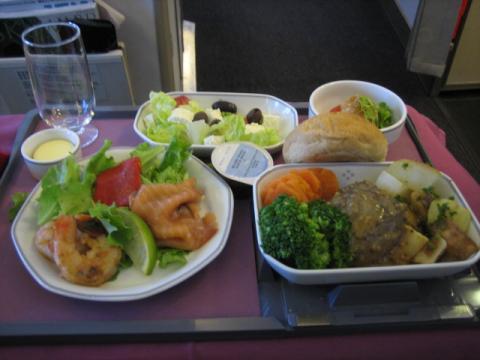 機内食 洋食