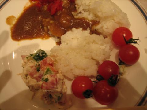 ホテルの食事 JAL成田