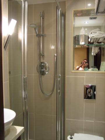 ロンドンのホテル バスルーム