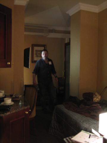 ロンドン ホテルのへや