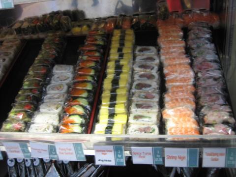 ビクトリア駅お寿司2