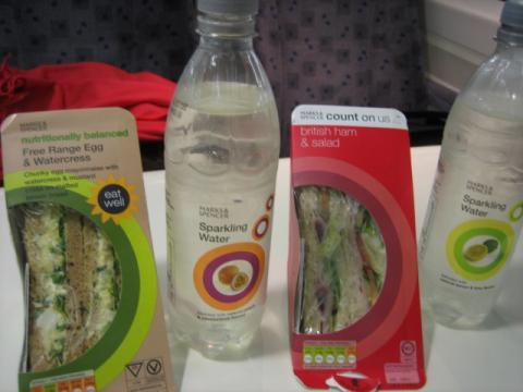 M&Sのサンドイッチ