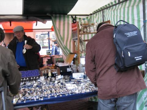 オックスフォードの市場1