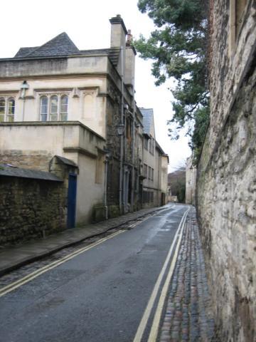 オックスフォードの小道