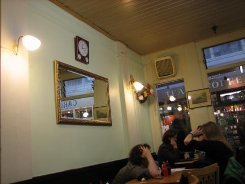 オックスフォード市場のカフェ2