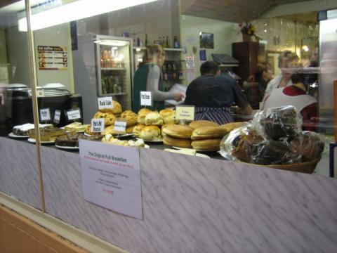 オックスフォード市場のパン屋さん