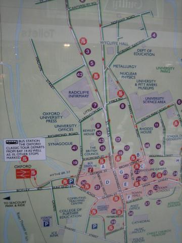 オックスフォード地図