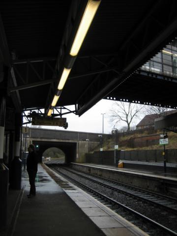 ウスターへ行く途中の駅2