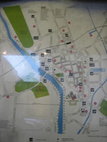 ウスター地図