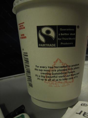 RyanAirのコーヒー