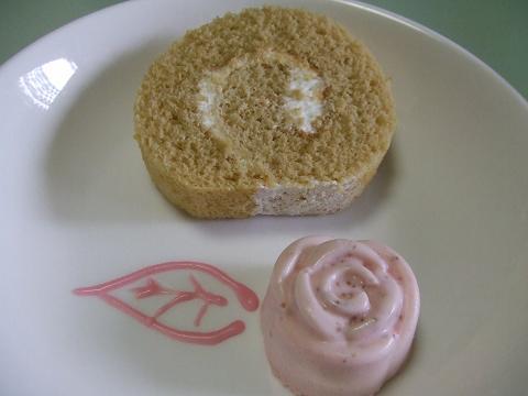 たえちんのロールケーキ