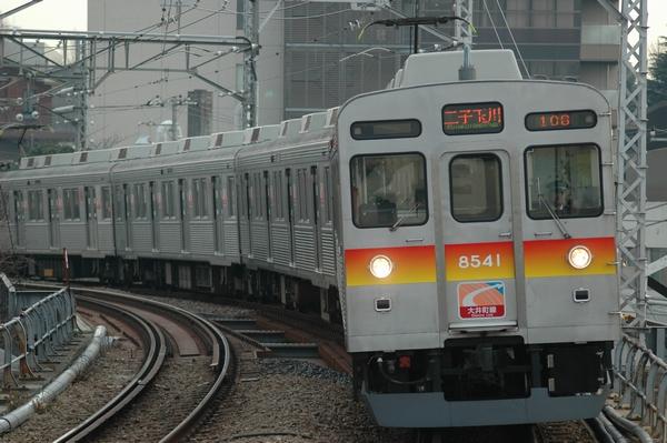 大井町線用の8500系