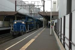 DD51+トワイライトエクスプレス@新さっぽろ駅