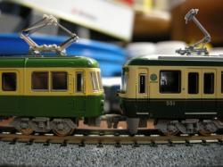 左:旧500形 右:新500形
