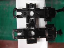 台車上枠の加工