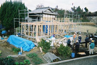 2006/02/03 上棟日