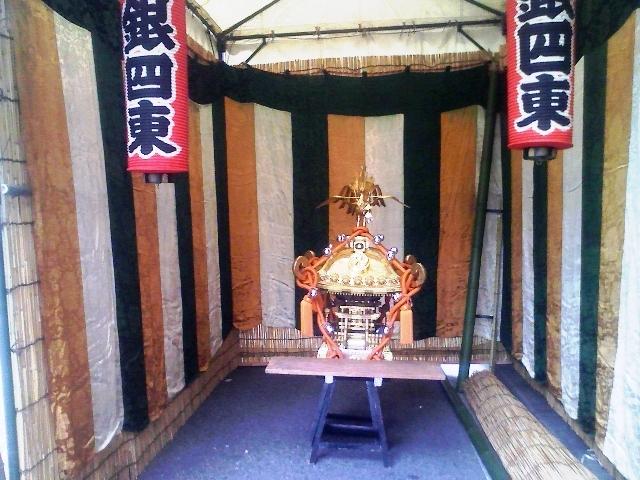 鉄砲州神社のお神輿