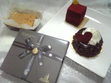 BDチョコ&ケーキ