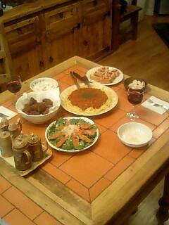 誕生日のディナー
