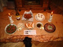 2005年のクリスマスディナー