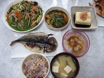 干物と味覇の野菜炒め