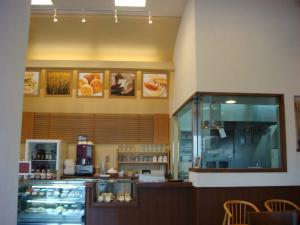 麦輪小樽cafeきれいな店内