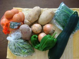 野菜の数々&卵