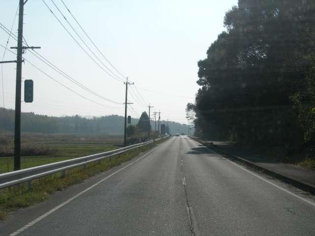 熊本の田舎道