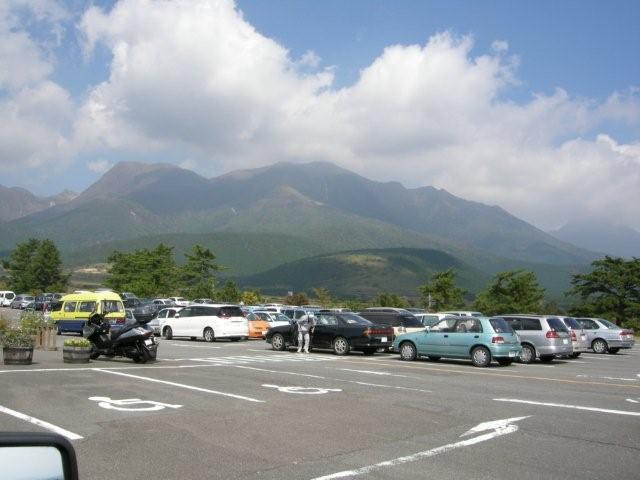 花公園の駐車場