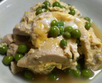 高野豆腐の卵とじ♪