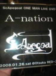 ScApegoat1/26ワンマンDVD