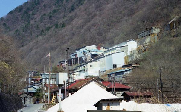 ニッチツ鉱山の工場