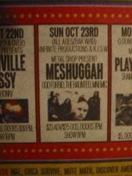 Meshuggah ad