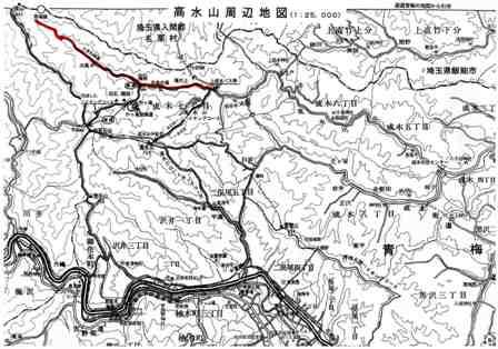 東京ヒルクライムコース図