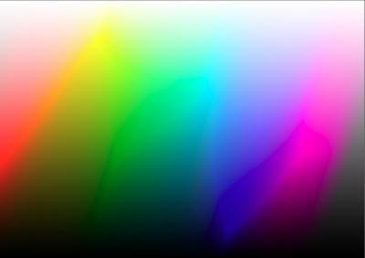カラーグラデーション-AdobeRGB