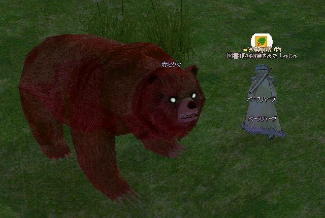クマとハーブ