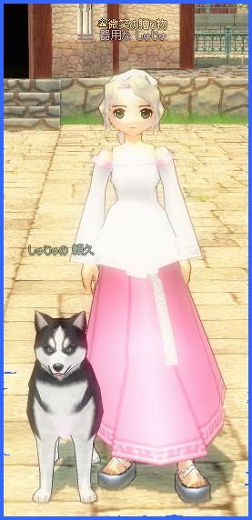 お嬢様と愛犬♪
