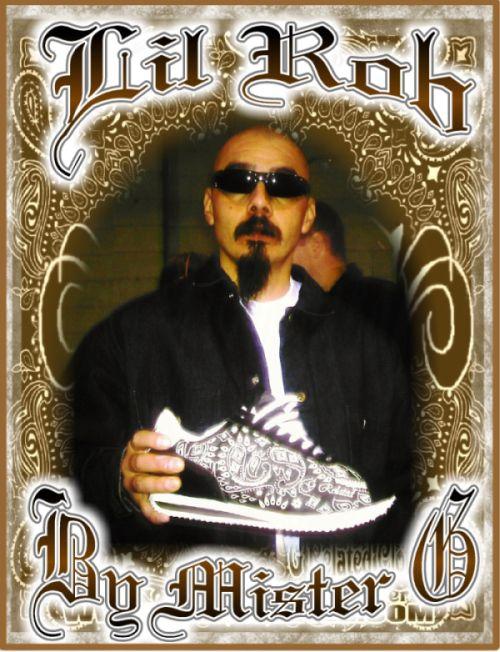 Lil Rob Bandana shoes