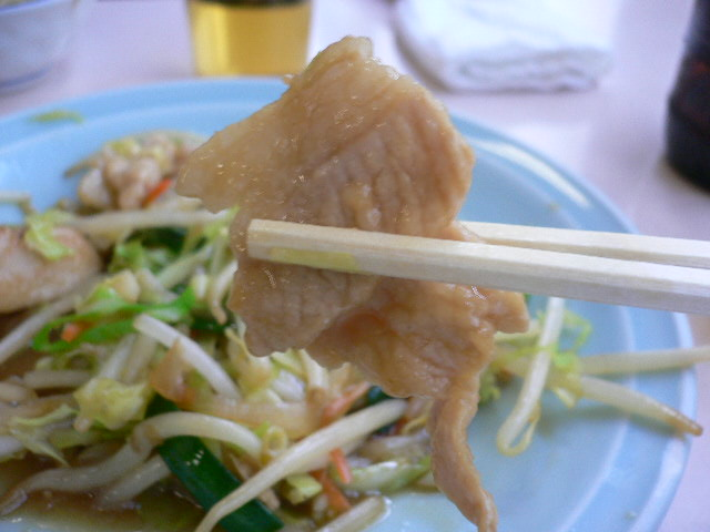 やっぱ中華は豚肉かな。
