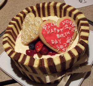 今回のケーキ!