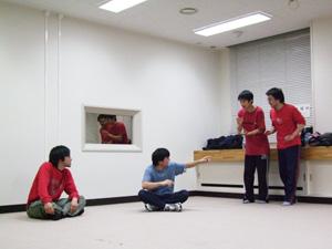 赤い相撲部屋1