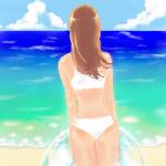 夏。水着。