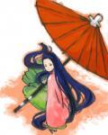 傘がでかい