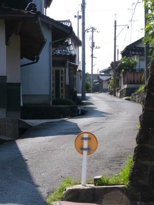 多伎町の道