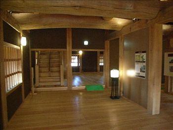 飯田丸櫓の中