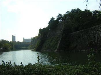 大阪城外堀