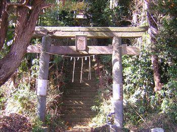 岡神社鳥居